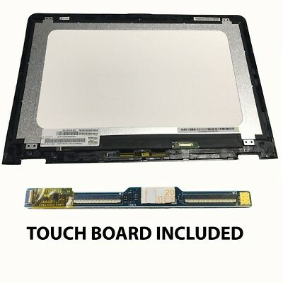 "HP Envy x360 M6-AR004DX M6-AQ003DX 15.6"" Touch LCD Screen Bezel PCB 856811-001"