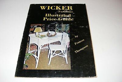 Vintage 1973 Wicker Furniture Price Guide History Book Photos Victorian Decor