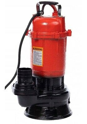 Submersible Sewage Dirty Water Deep Well Septic Sump Cesspool Pump + Grinder