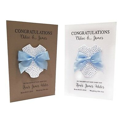 new baby white blank cards envelopes pack of 5 baby boy baby girl