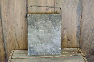 antique warming stone bed or buggy warmer heavy soapstone block