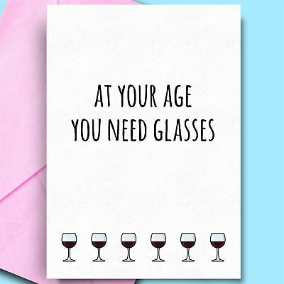 Funny Birthday Cards For Son Bestfriend Sister Wife Adult Cheeky Comedy Rude