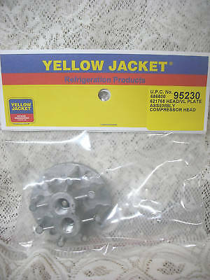 Yellow Jacket Thomas Oil Less Recovery Liquid Head Valve Plate 520CK60 & 520CK75