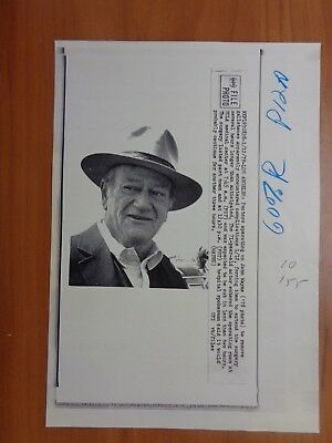 Vintage Wire Press Photo Actor John Wayne Western Cowboy The Duke True Grit #11