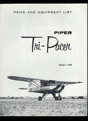 PIPER TRI PACER maintenance manual library PA22-150 / 160 w