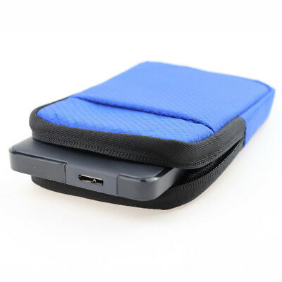 "Portable 2.5"" inch HDD Silicone Case Hard Drive Disk Cover Bag for Seagate WD"