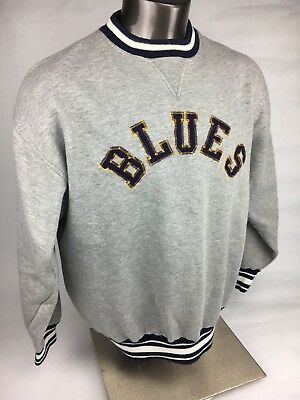 Sports Mem, Cards & Fan Shop St Louis Blues Old Time Hockey 1967 Sweat Shirt Size M