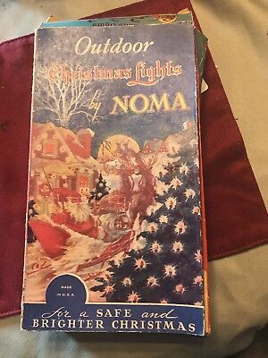 Antique outdoor christmas lights by noma original box 3000 antique outdoor christmas lights by noma original box aloadofball Image collections