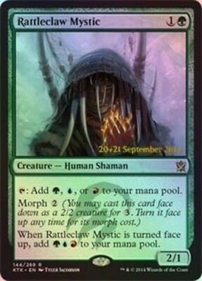Rattleclaw Mystic Foil - Prerelease Promo, Moderate Play, English, MTG Promos MT