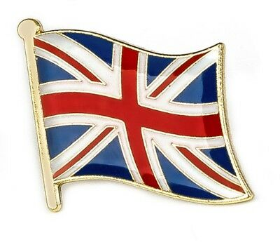Britische Flagge Uk-Flagge Union Jack Pin Revers Anstecker Großbritannien HQ