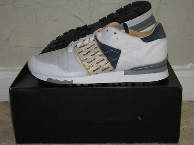 Garbstore x Reebok Classic Leather 6000 White/Navy Mens Size 10 DS NEW! V53518