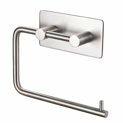 Labkiss Self Adhesive Toilet Paper Holder, SUS 304 Stainless Steel Tissue Roll