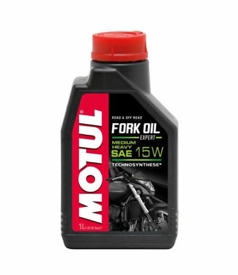 105931 Motul Olio Forcella Moto Fork Oil Expert Sae 15W Medium-Heavy 1Lt