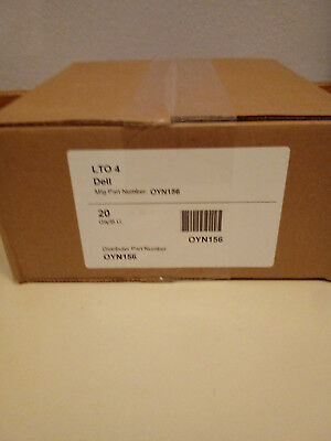Dell LTO Ultrium 4 Data Cartridge 800GB Native/ 1600GB Compressed (New) 20 pack