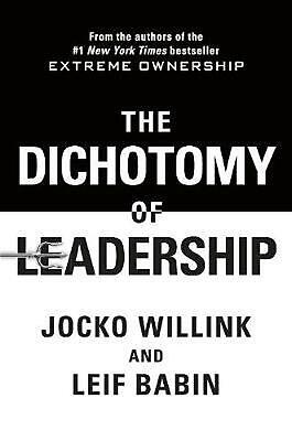The Dichotomy of Leadership by Jocko Willink Paperback Book Free Shipping!
