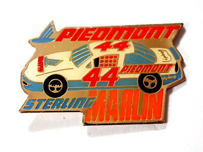 Sterling Martin #44  Piedmont Airlines Racing colors Vintage Pin   Nascar