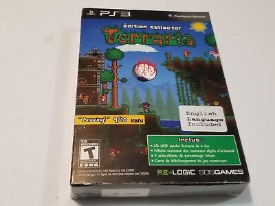 Terraria Edition Collector PS3 (FRENCH PACKAGE PLAYABLE ENGLISH) Playstation 3