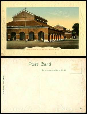 India Old Postcard General View R.F.A. Barrack Meerut Meerutt, Military Barracks