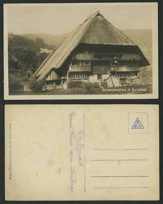 Germany Old Real Photo Postcard BLACK FOREST, Gutachtal