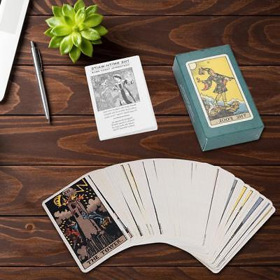 78pcs Destiny Tarot Cards Fortune Telling Cards Table Party Games Gift Toy Craft