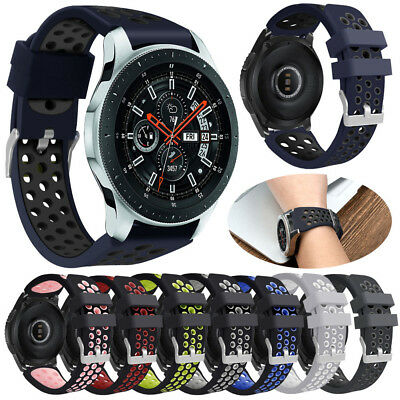 Sports Silicone Bracelet Strap Band For Samsung Galaxy Watch 46mm Smart Watch