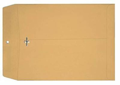 Econo Clasp Catalog Envelopes 28lb Brown Kraft 10-x-15-500-pk - Shipping envelop