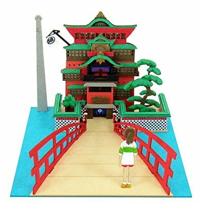 SANKEI Studio Ghibli mini Spirited Away Sen Chihiro Aburaya MP07-11 Paper Craft