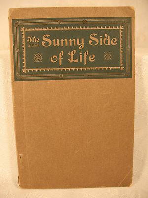 The Sunny Side Of Life Humor Gathered From Many Sources Antique Old Book Case