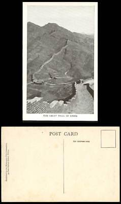 Chinese Great Wall of China, 3rd Century, Missionary Film Committee Old Postcard