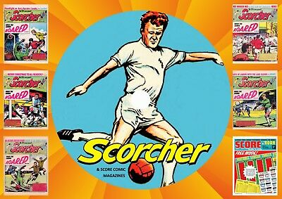 Scorcher + Score Collection 2 UK Comics On DVD Rom