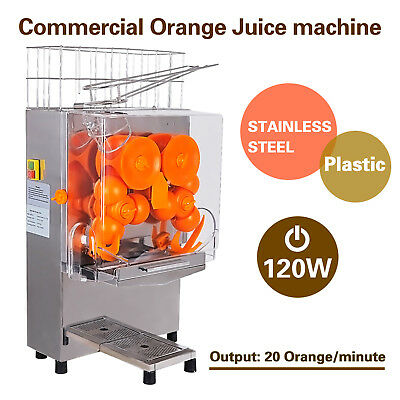 Commercial Electric Orange Squeezer Juice Fruit Maker Juicer Press Machine