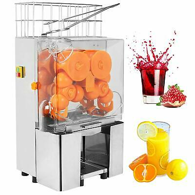 Commercial Electric Orange Juice Press Machine Extractor Lime Citrus Squeezer