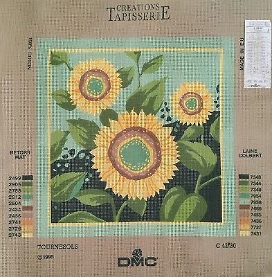 DMC - Tournesols Tapestry Canvas