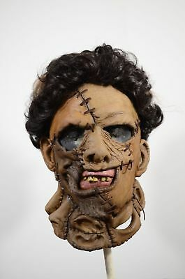 Texas Chainsaw Massacre 2 Leatherface Mask Trick or Treat Studios NEW IN STOCK