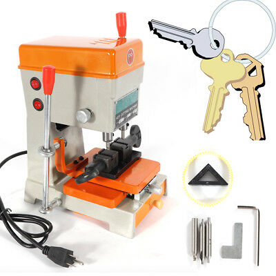 Laser Copy Cutting Machine With Full Set Cutters Key Making Tools 110V