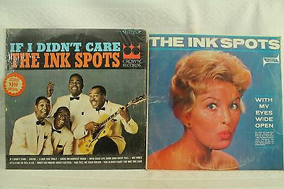 Lotto LP Records The Ink Spots With My Eyes Wide Open If i Didn'T Care Album