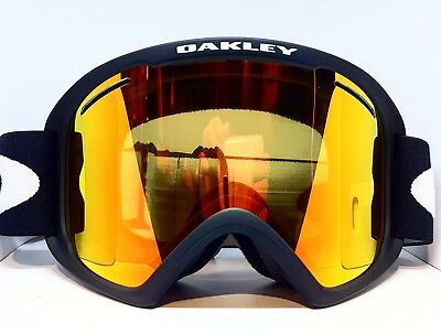 c77c9f6f0d6 OAKLEY O FRAME 2.0 XL GOGGLES MATTE BLACK with FIRE IRIDIUM Lens ...