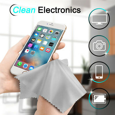 10Pack Premium Microfiber Cleaning Cloths Cleaner for Camera Lens Glasses Screen
