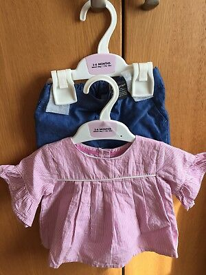 Brand New 3-6 Months M&S Autograph Baby Girls Outfit