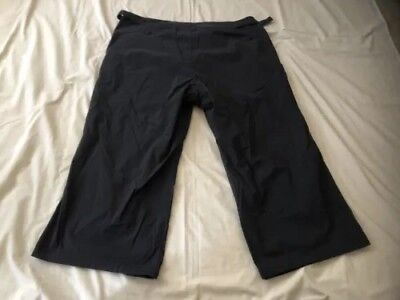 Kathmandu Women's Black Outdoor Hiking 3/4 Pants Size 12