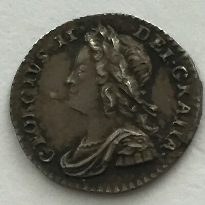 1754 Maundy Penny Extremely Fine or Better, Superb, George II, Great Britain, UK