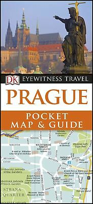 Prague Pocket Map and Guide (DK Eyewitness Travel Guide), DK Travel, New Book