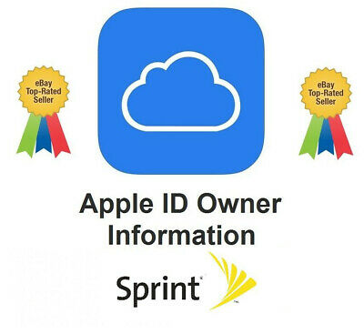 Apple iCloud Owner Info (Name + Phone) by IMEI | SPRINT (we share system screen)