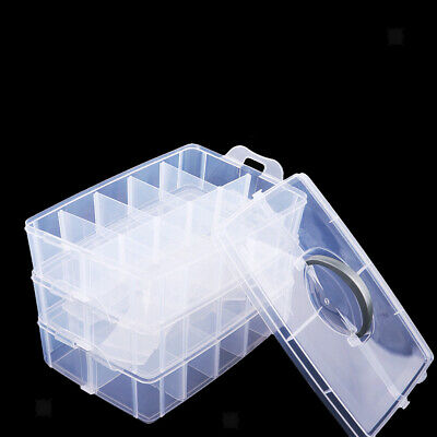 Three Layer Clear Waterproof Case for Mini Diecast Car Truck Storage Drawers