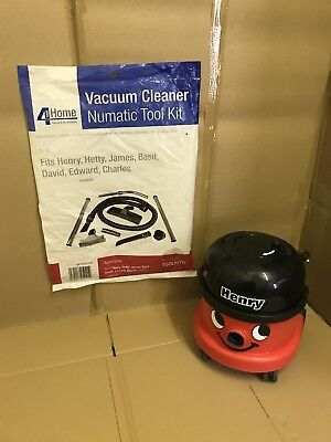 Numatic Henry Cylinder Vacuum Cleaner - Single Speed