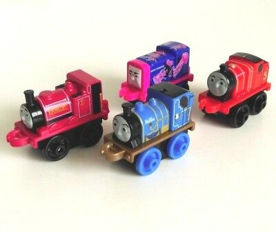 Thomas And Friends Minis X4 Bundle Assorted Engines Set 1