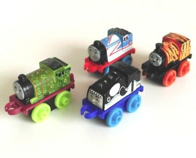 Thomas And Friends Minis X4 Bundle Assorted Engines Set 4