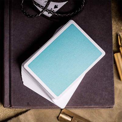 Mazzo di Carte Steel Blue Playing Cards (V2 Edition) by Bocopo