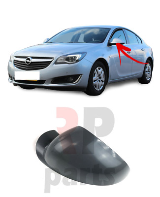 For Vauxhall Opel Insignia 08-17 New Wing Mirror Cover Cap Primed Left N/s