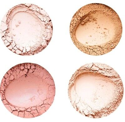 Annabelle Minerals Rouge Mineral Coral Honey Nude Romantic Rose Sunrise